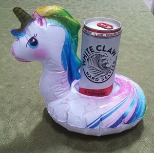 FREE unicorn floating koozie
